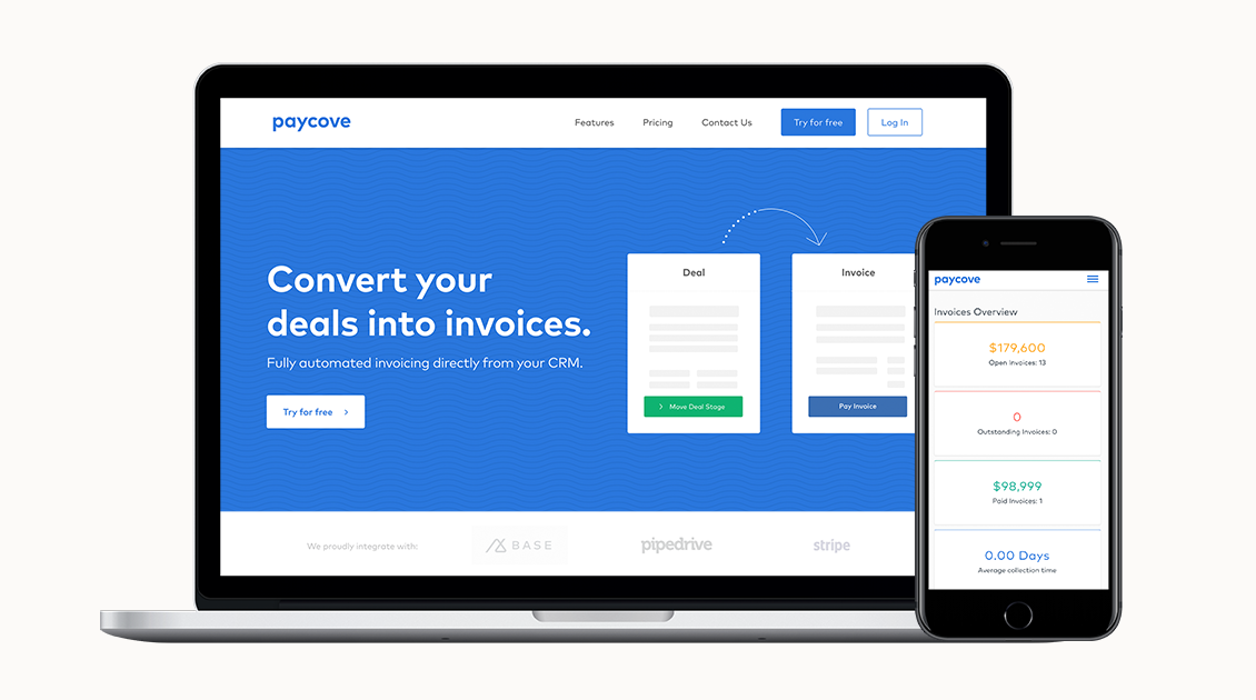 Automated Invoicing Integration For CRMs Paycove - Automated invoicing